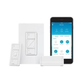 Smart Bridge Pro Starter Kit with In-Wall Dimmer