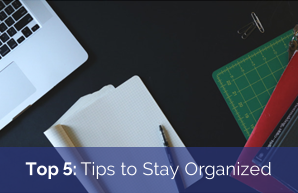 Top 5: Tips for EC's to Stay Organized