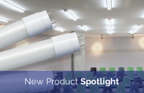 New Product Spotlight: TCP LED T8 Type AB Tubes