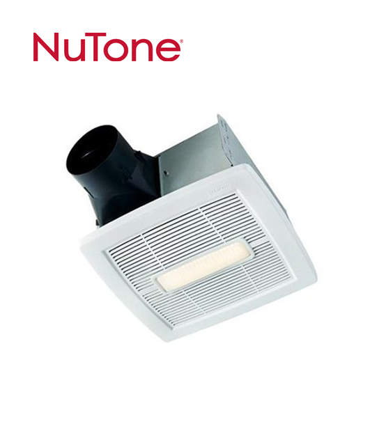 Nutone Invent Series Fan With Light Cardello Electric