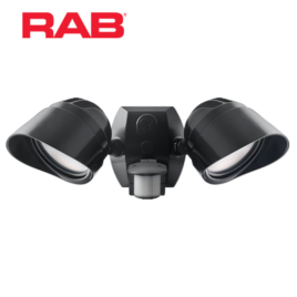 RAB LED Smart Bullet Flood with Motion Sensor