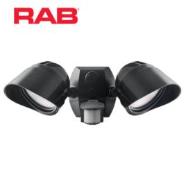 RAB LED Smart Bullet Flood with Motion Sensor