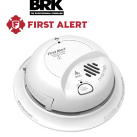BRK 120V AC/DC Smoke & CO Alarm w/ 10YR Lithium Battery
