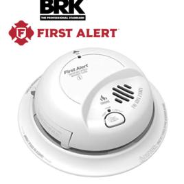 BRK 120V AC/DC Smoke & CO Alarm w/ 10YR Lithium Battery