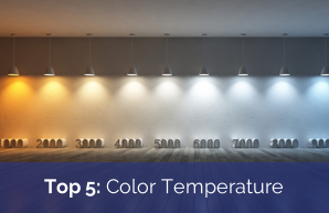 Top 5: Facts on Color Temperature