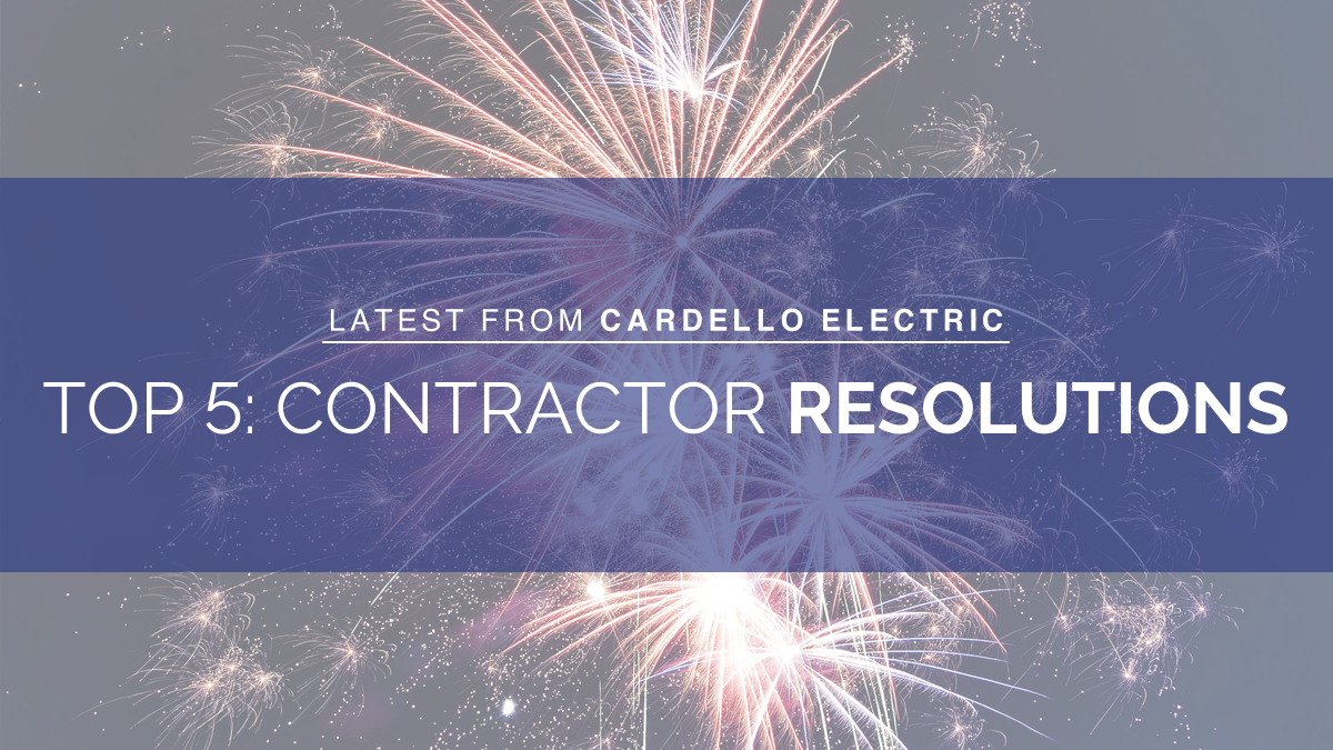 contractor resolutions new year