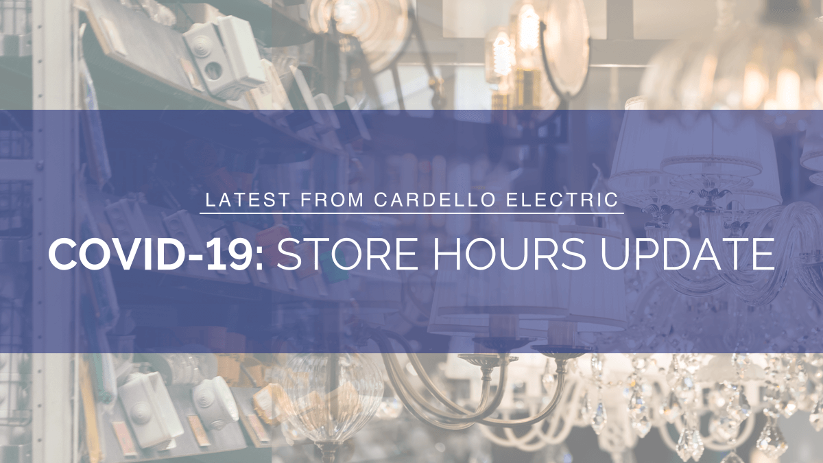 COVID-19 Store Hours Update