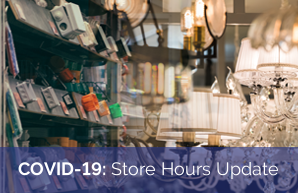 COVID-19: Store Hours Update
