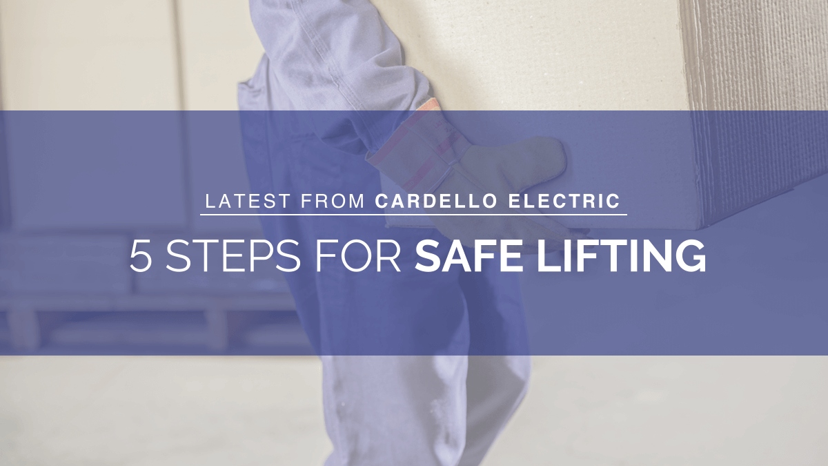 5 Steps for Safe Lifting