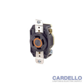 2710 Leviton Industrial Grade Flush Mounting Locking Receptacle