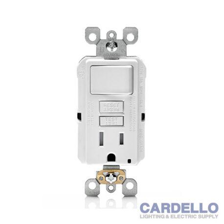 GFSW1-W SmartlockPro® GFCI Combination Switch